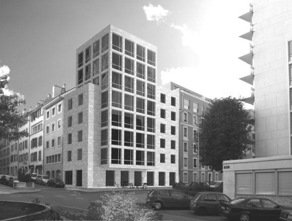 Concours construction immeuble Cordiers