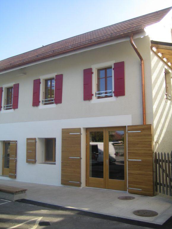 316 / Céligny - Rénovation d'une école