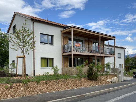 358 / Sézenove - Maison Neuve - Construction d'une coopérative d'habitation