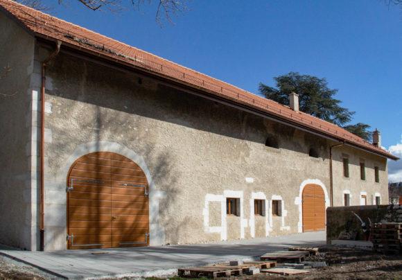 498 / Meyrin - Rénovation d'une ferme urbaine