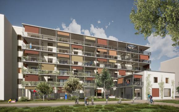 430 / Lausanne - Ecopolis - Construction d'une coopérative d'habitation