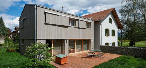 286 / Transformation d'une maison à Choulex
