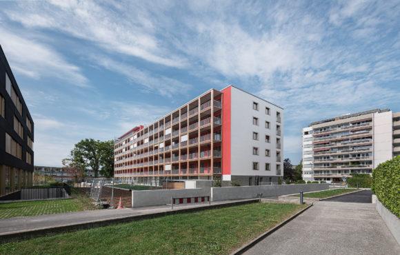 E186 / Vernier – Immeuble de logements / Minergie-P