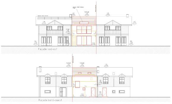 512 / Bernex - Transformation d'un garage et d'un grenier en appartement indépendant